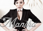 Manika Official Promotion Photo 5 black suit outfit