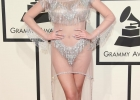 Manika Red Carpet Grammy Awards silver outfit 1
