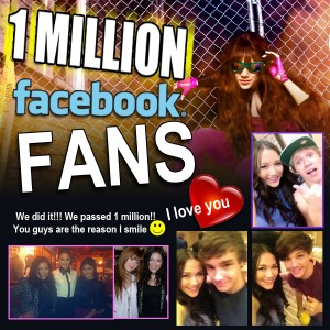One Million Facebook Fans