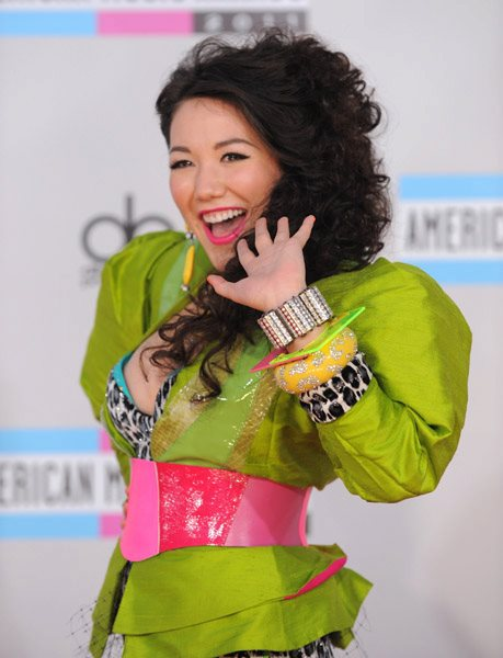 Manika at American Music Awards