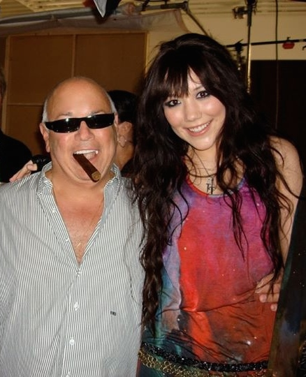 Manika with Frank Dileo