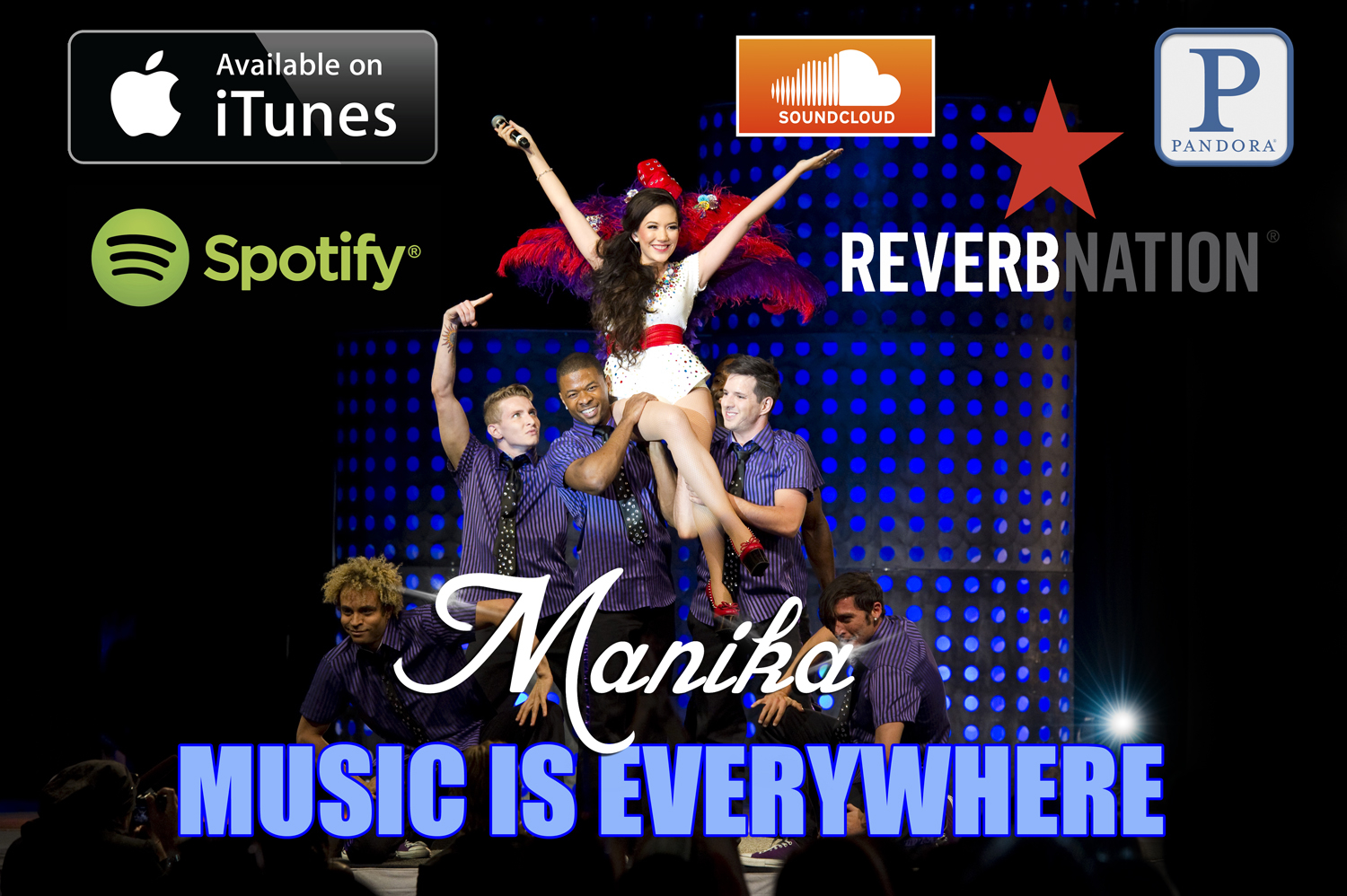 Follow Manika Music Everywhere!