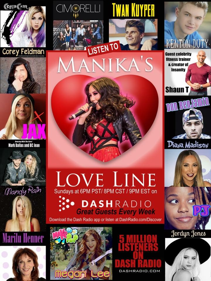 Manikas Love Line Dash Radio
